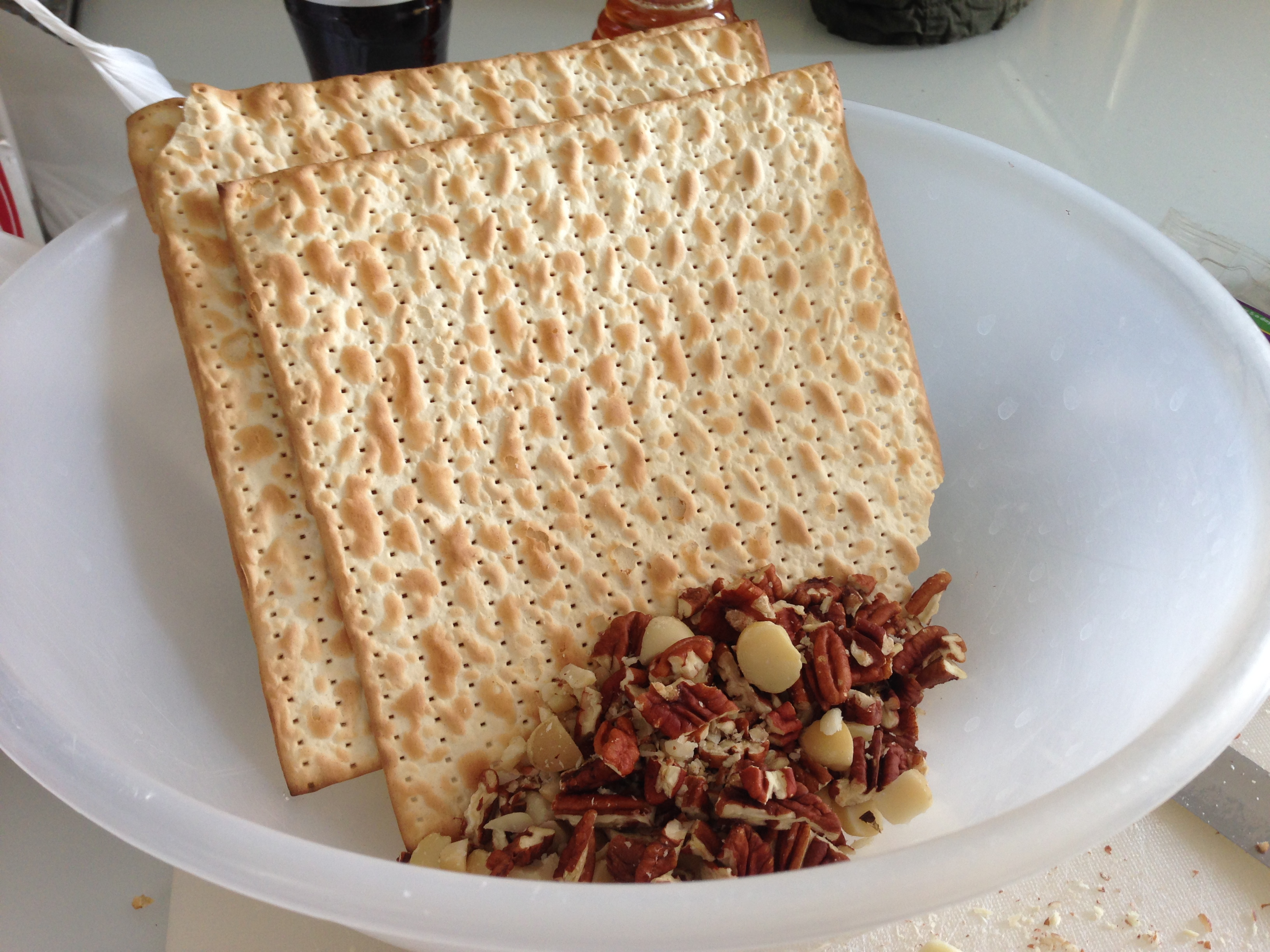 Matzo-Granola – Healthy AND Kosher for Pesach « Big Jew on a Diet